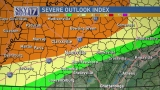 CODE RED Warning: Severe storm risk for parts of Middle Tennessee upgraded
