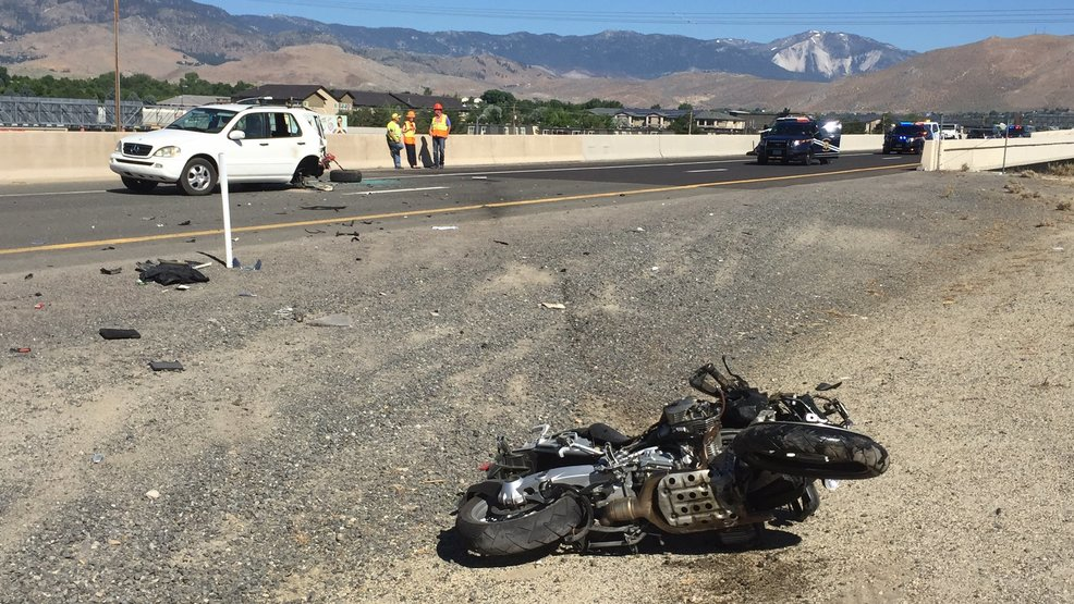 NHP Deadly Motorcycle Crash Temporarily Shuts Down Carson City Roadway