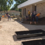 Work is underway to put Learning Garden outside Monger Elementary