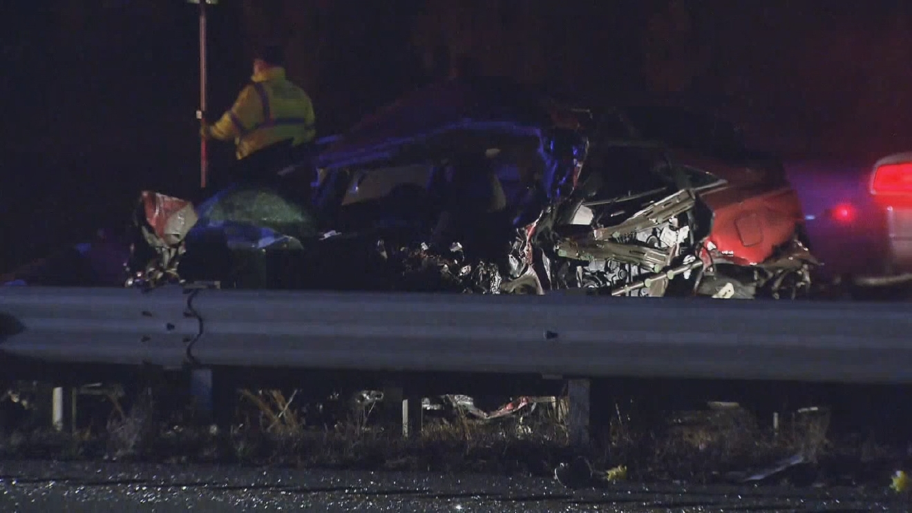 A Central Falls man was killed in a wrong-way crash on Interstate 85 in Durham, North Carolina, Monday, March 20, 2017. (WRAL)