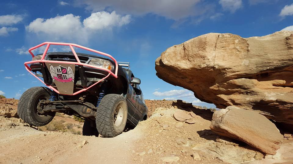 Missy Lovett was one of only five women selected to compete in the off-road challenge with a total of 50 competitors from across the United States in the History Channel series, &quot;Truck Night in America.&quot; (Photo: Missy Lovett / Facebook)<p></p>