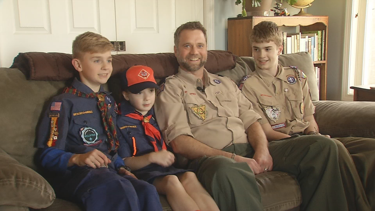History is in the making here in the mountains: The Cub Scouts of Western North Carolina had its first group of girls join the pack. (WLOS)