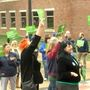AFSCME members rally for wage increase