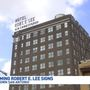 Request submitted to modify Robert E. Lee Hotel signs