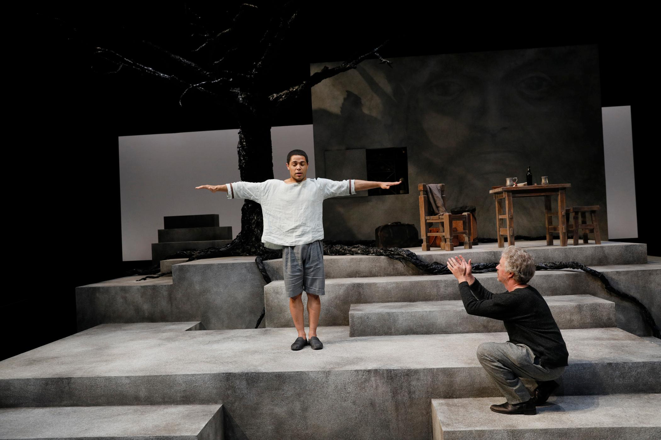 Alex & Aris runs through August 6 at ACT Theatre in downtown Seattle. (Image: ACT Theater)