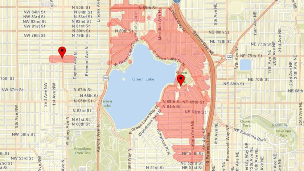 Seattle City Light Reports 4,400 People Are Without Power In Green Lake.  (Photo Courtesy Seattle City Light) Great Ideas