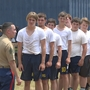 West Hardin Football gaining strength in USMC boot camp