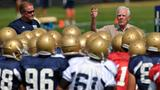 Community reacts after loss of former Notre Dame coach Ara Parseghian