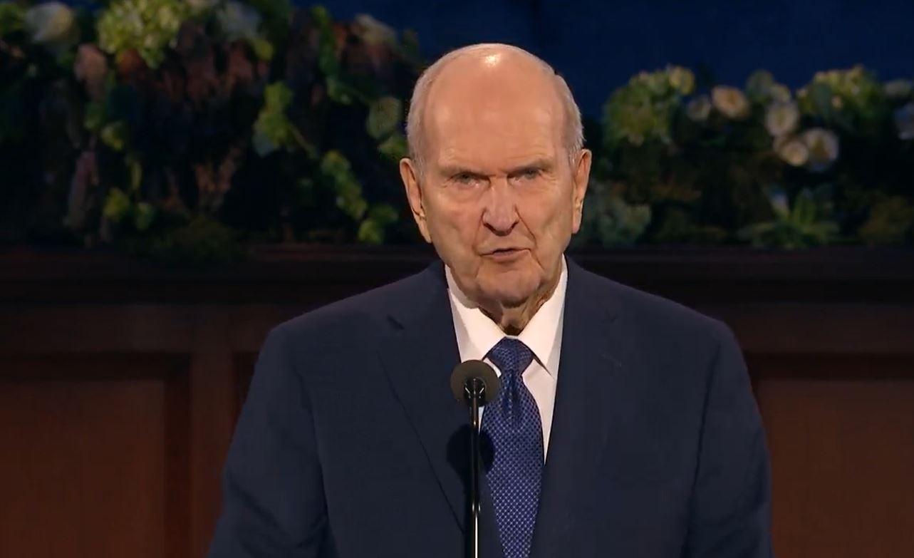 President Russell M. Nelson (Photo: YouTube / screengrab)<p></p>