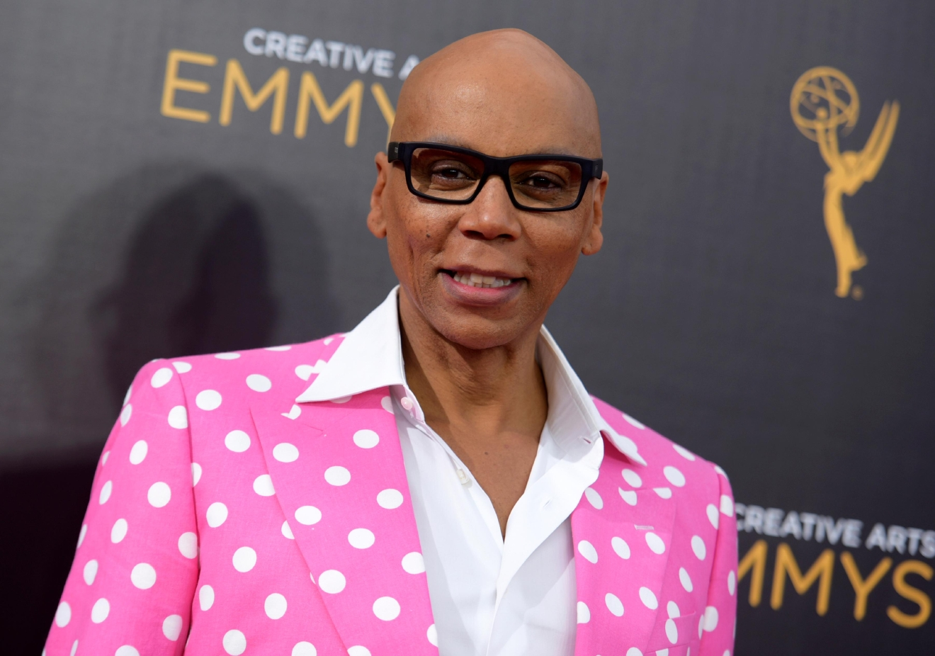 FILE - In this Sept. 11, 2016 file photo, RuPaul Charles arrives at night two of the Creative Arts Emmy Awards in Los Angeles. RuPaul announced Wednesday, March 15, 2017, that he married his longtime boyfriend in January. (Photo by Richard Shotwell/Invision/AP, File)
