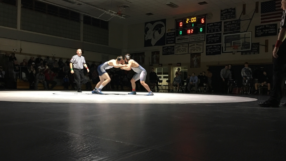 H.S. Roundup: Penns Valley wrestling advances to semis