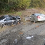 OSP: Driver fleeing police crashes head-on with car on I-5, suspect escapes in woods